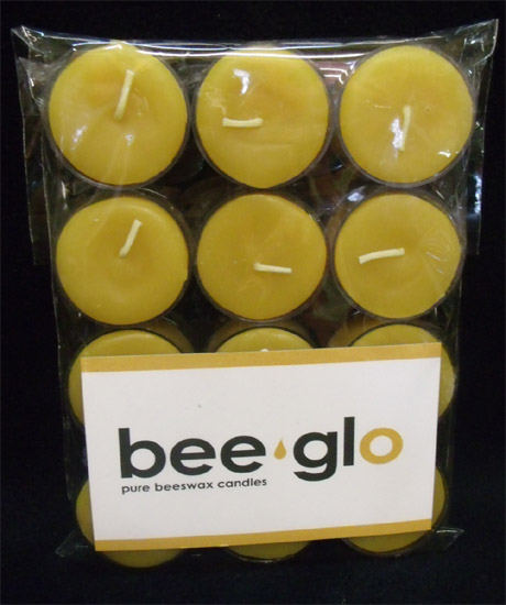 Beeswax Candles -Tea Lights (6)